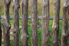 płotowy drewniany Zdjęcia Stock