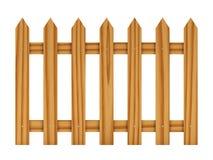 płotowy drewniany Obraz Royalty Free
