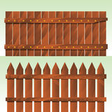 płotowy drewniany Fotografia Stock