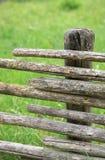 płotowy stary drewniany Obraz Stock