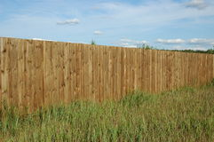 płotu drewna Fotografia Stock