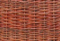 płotu wikliny Fotografia Stock