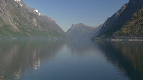1080p, Pan Over Lake, Norway Royalty Free Stock Images
