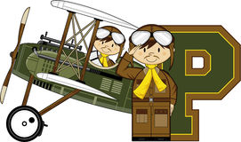 P is for Pilot Stock Photography