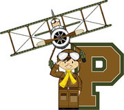 P is for Pilot Stock Images
