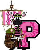 P is for Pirate - Zebra Stock Images
