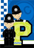 P is for Policeman Stock Photography