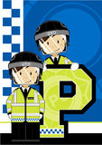 P is for Policeman Stock Image