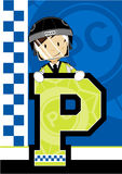 P is for Policeman Stock Photos