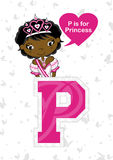 P is for Princess Stock Images
