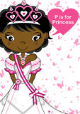 P is for Princess Stock Photography