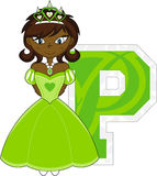 P is for Princess Royalty Free Stock Image