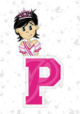 P is for Princess Royalty Free Stock Photo