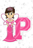 P is for Princess Royalty Free Stock Images