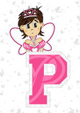 P is for Princess Stock Image