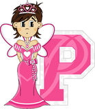 P is for Princess Stock Photo