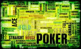 Pôquer Fotografia de Stock