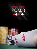 Pôquer Fotos de Stock Royalty Free