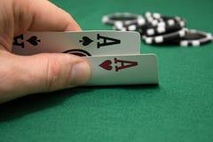 Pôquer Imagens de Stock