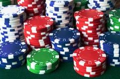 Pôquer Chip Background Imagens de Stock