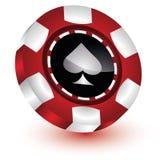 Pôquer Chip Casino Imagens de Stock Royalty Free
