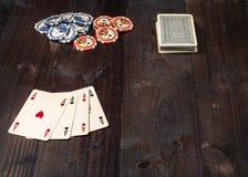 Pôquer ocidental americano Imagem de Stock Royalty Free