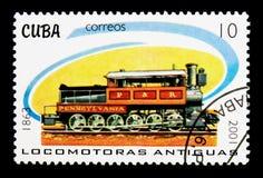 P&R 1863蒸汽火车,蒸汽机车serie,大约2001年 免版税图库摄影