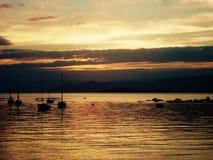 Pôr do sol Florianópolis Brasil. Sunset pôr do sol brasil brazil praia beach playa nature sun paradise southern sul Stock Image
