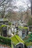Père Lachaise Cemetery Stock Photography
