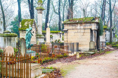 Père Lachaise Cemetery Royalty Free Stock Photo
