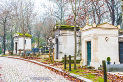 Père Lachaise Cemetery Royalty Free Stock Images