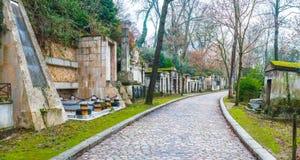 Père Lachaise Cemetery Royalty Free Stock Photos
