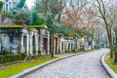 Père Lachaise Cemetery Royalty Free Stock Photography