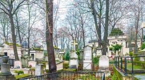 Père Lachaise Cemetery Stock Images