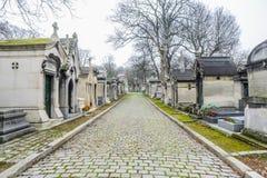 Père Lachaise Cemetery Stock Photo