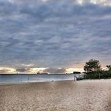 På stranden Royaltyfri Fotografi