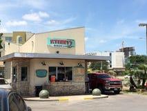 P Suporte do hamburguer de Terry em Austin Texas Imagem de Stock Royalty Free