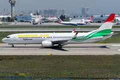P4-TAJ Somon Air , Boeing 737 - 900 Royalty Free Stock Photo
