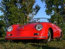 P.-V. invariable sur Sportscar allemand classique Photos stock