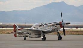 P-51 vechtersvliegtuig royalty-vrije stock fotografie