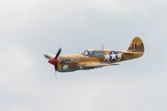 P40 Warhawk vintage aircraft Royalty Free Stock Photos
