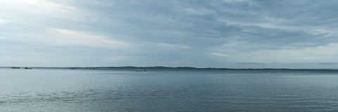 Płytka wpust panorama Zdjęcie Stock