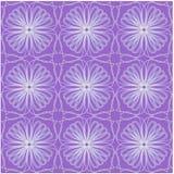 Płytka z geometrycznym bezszwowym ornamentem Zdjęcia Stock