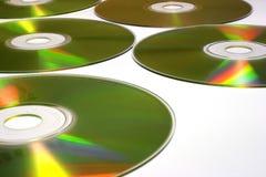 płyty cd - rom - y Fotografia Royalty Free