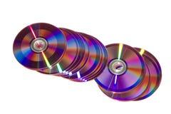 płyty dvd Obraz Royalty Free