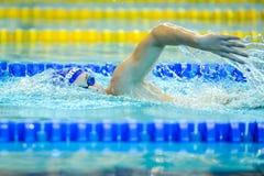 Pływacka rywalizacja Obraz Stock