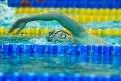 Pływacka rywalizacja Obrazy Stock