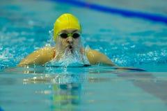 Pływacka rywalizacja Zdjęcie Stock