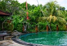 Pływacki basen eco kurort Obraz Royalty Free
