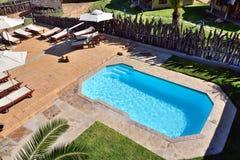 Pływacki basen, Namibia Zdjęcia Royalty Free